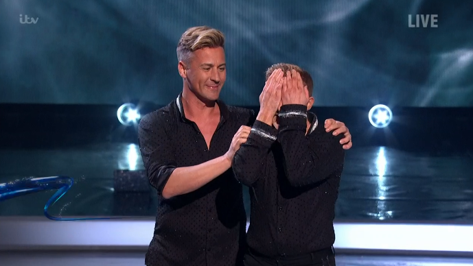 Dancing On Ice: Matt Evers and Ian H Watkins perform first same-sex routine