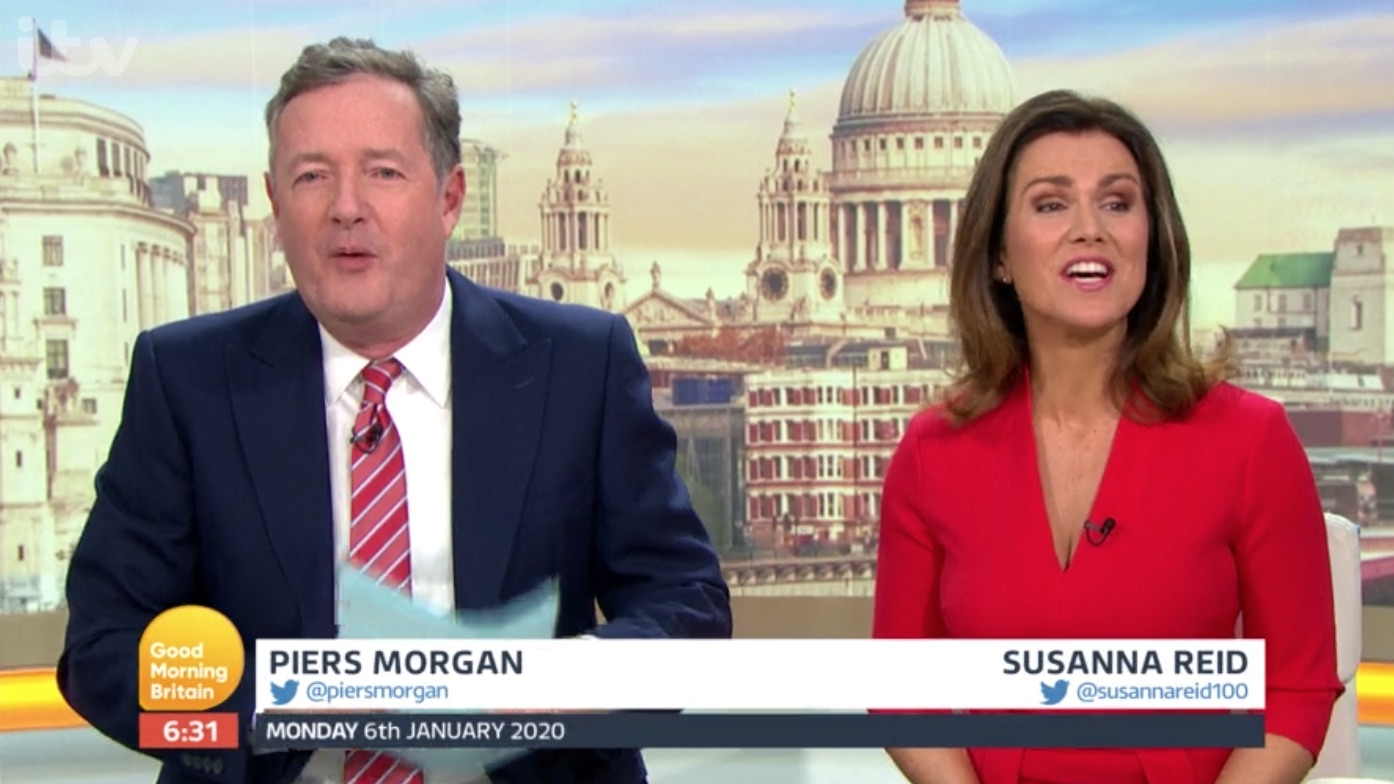 GMB viewers 'upset' at new format as Piers Morgan starts 30 minutes later