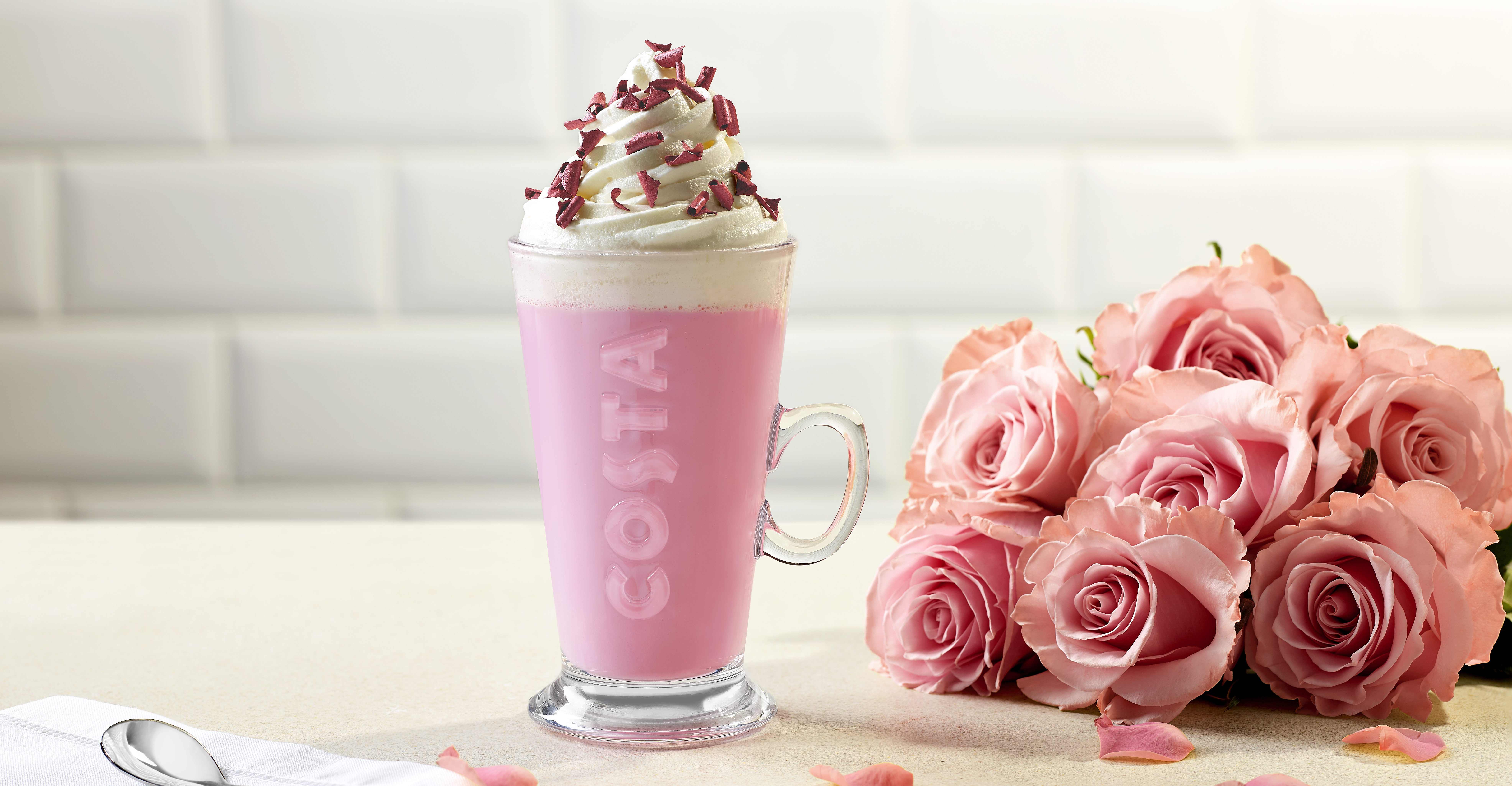 Costa Launches Pink Hot Chocolate As Part Of Its Limited