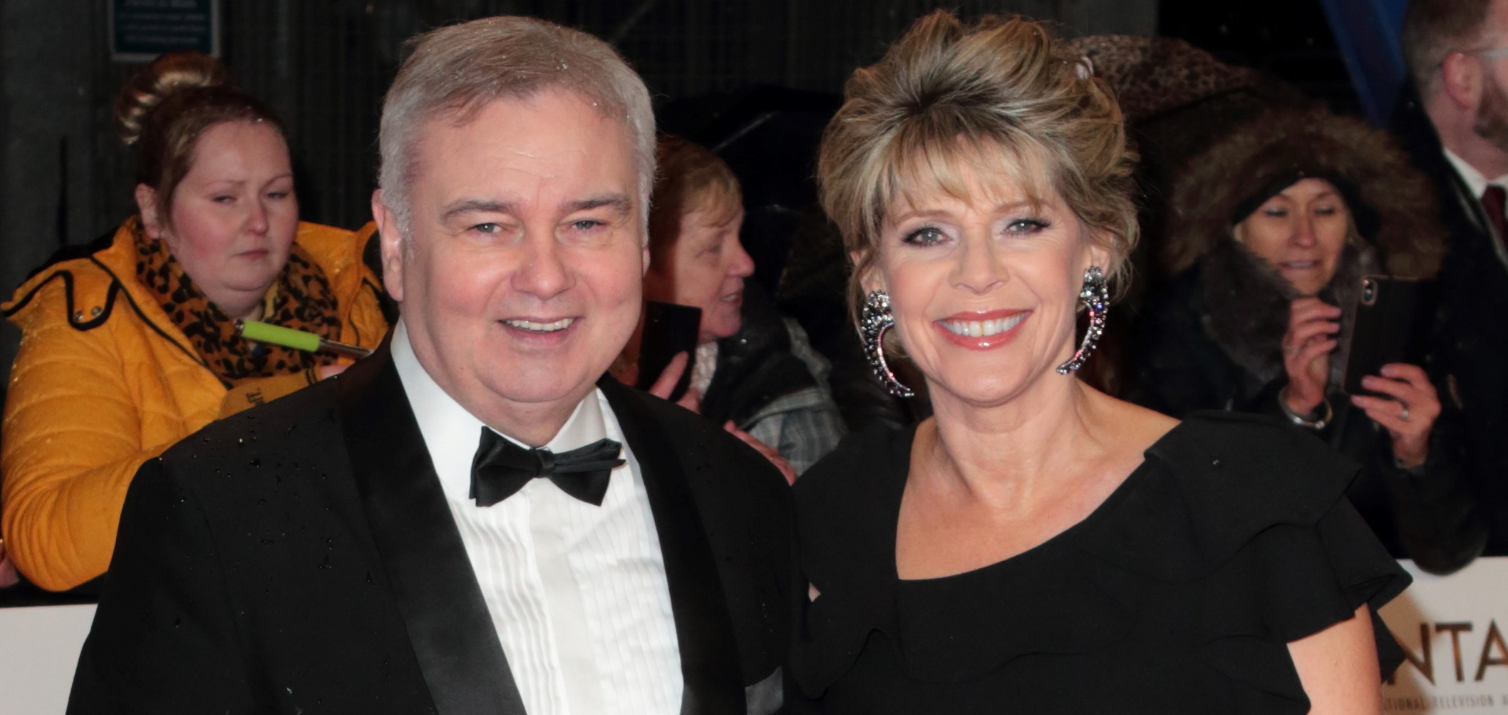 Eamonn Holmes pays tribute to 'incredible' wife Ruth Langsford after 'difficult year'