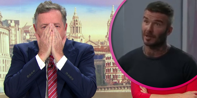 Piers Morgan makes dig at David Beckham's 'wooden' acting cameo on Modern Family