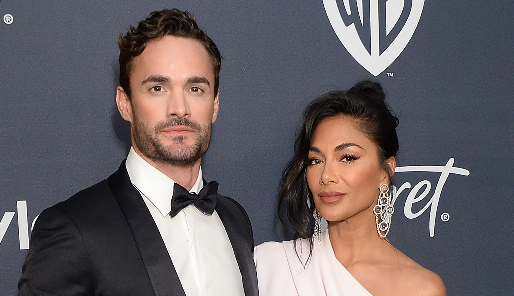 Nicole Scherzinger and Thom Evans 'confirm' romance as they make red carpet debut