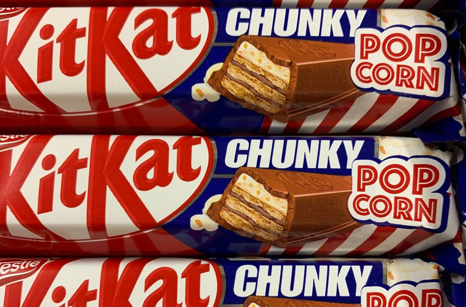 You can now buy popcorn-flavoured KitKat Chunky bars