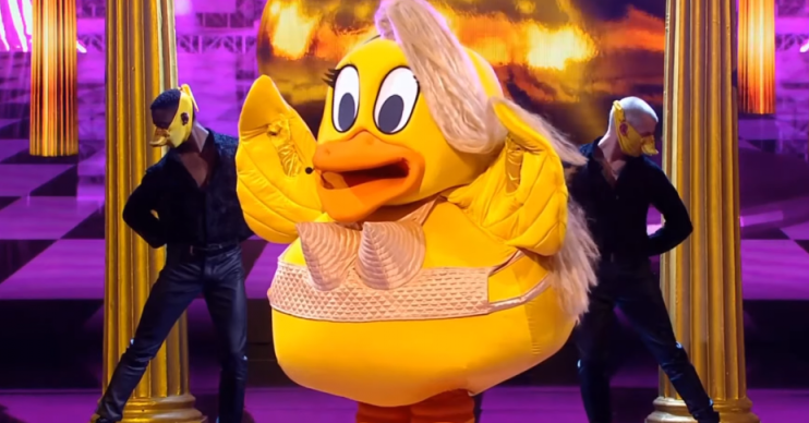 Duck on The Masked Singer