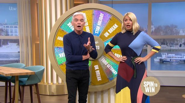 Phillip Schofield and Holly Willoughby in hysterics as viewer wins holiday to her hometown on This Morning