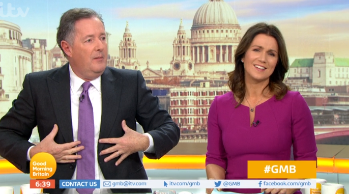 Piers Morgan reveals he's not attending NTAs as he thinks Holly Willoughby and Phillip Schofield will win