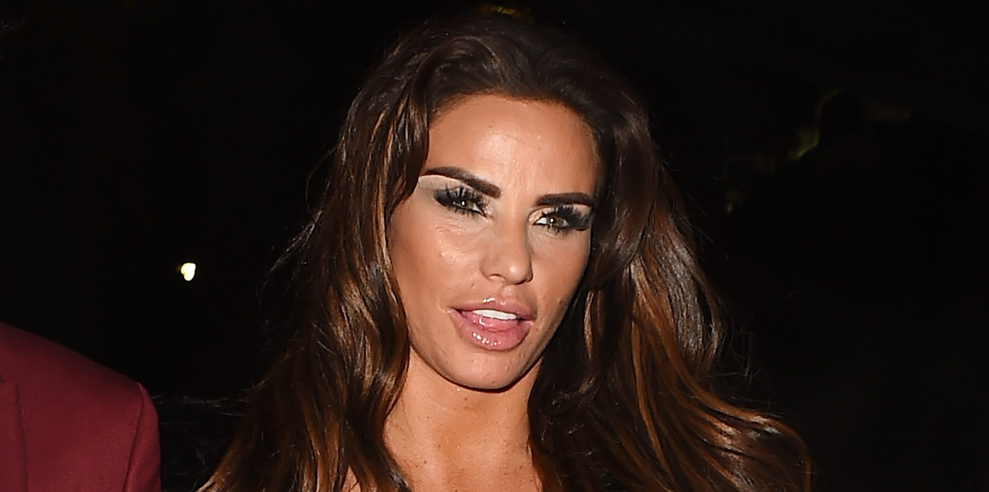 Katie Price 'doing dry January in a bid to drop a dress size'