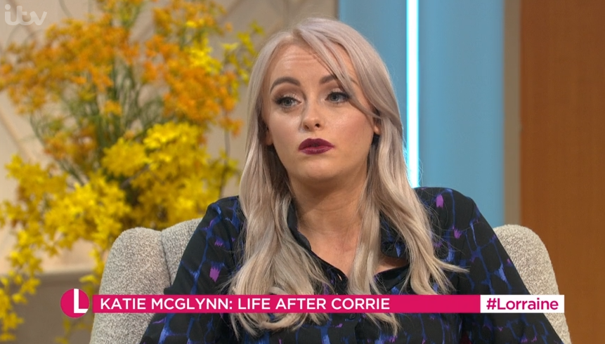 Former Coronation Street star Katie McGlynn reveals she passed out between pantomime shows and ended up in hospital
