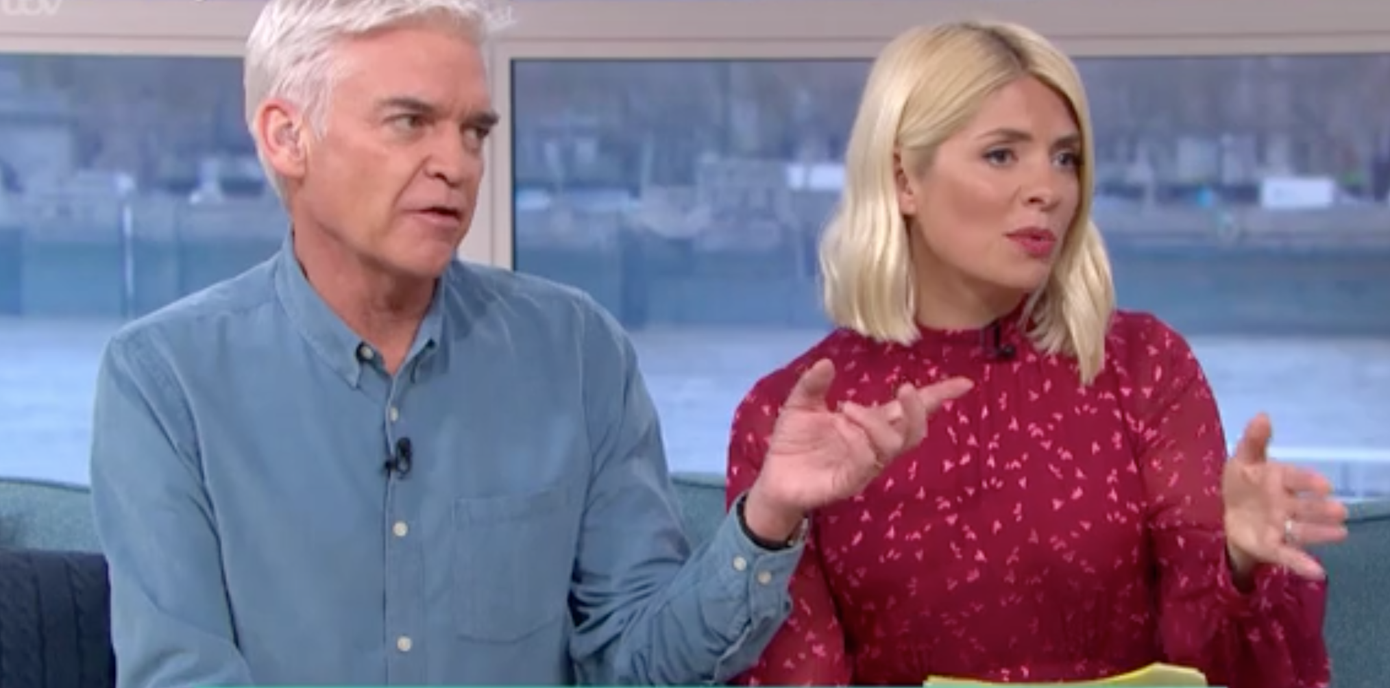 Phillip Schofield and Holly Willoughby step in to calm Meghan debate on This Morning