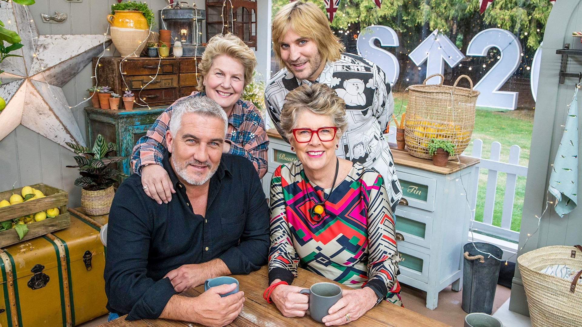 Celebrity Bake Off judges