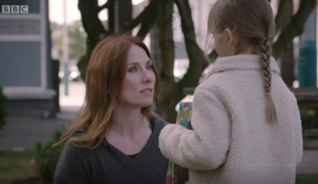 Holby City viewers touched as Jac reunites with daughter Emma