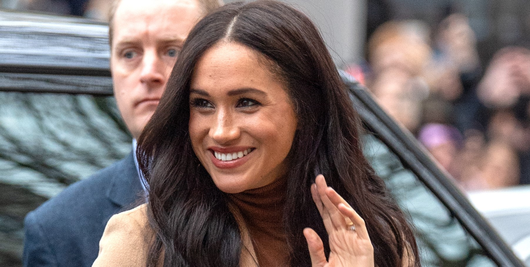 Meghan sparks pregnancy rumours after 'clue' on first royal outing of this year