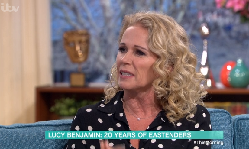EastEnders' Lucy Benjamin has filmed her final scenes but isn't ruling out another return for Lisa Fowler
