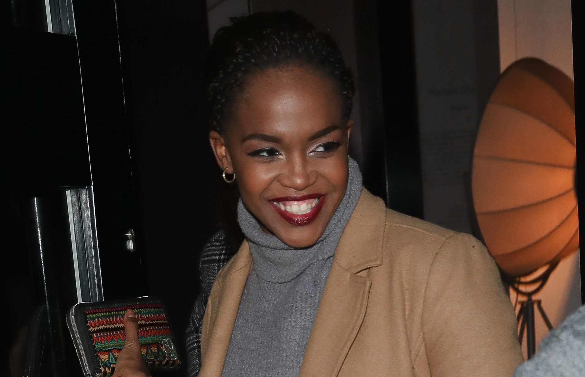 Strictly's Oti Mabuse enjoys night out with former partners Kelvin Fletcher and Danny Mac