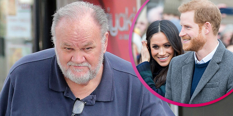Meghan's dad Thomas Markle breaks silence on news she and Harry will step away from royal family