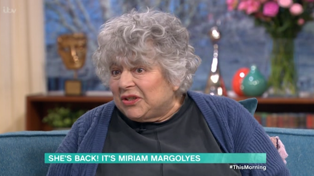 Call The Midwife star Miriam Margolyes SWEARS on This Morning