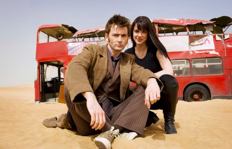 Michelle Ryan as Christina in Doctor Who