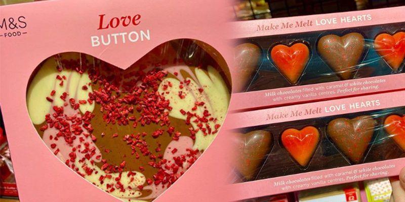 M&S selling range of chocolate treats for Valentine's Day