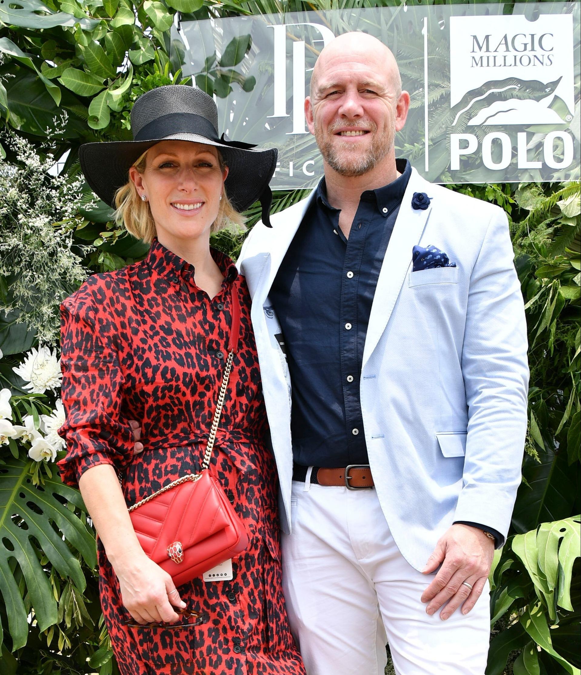 Zara Tindall and Mike Tindall
