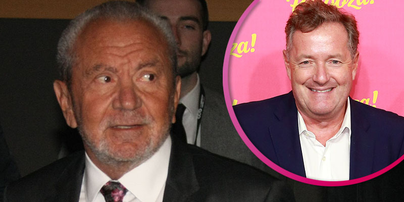 Alan Sugar calls out 'grovelling' Piers Morgan over his 'vendetta' against Meghan Markle