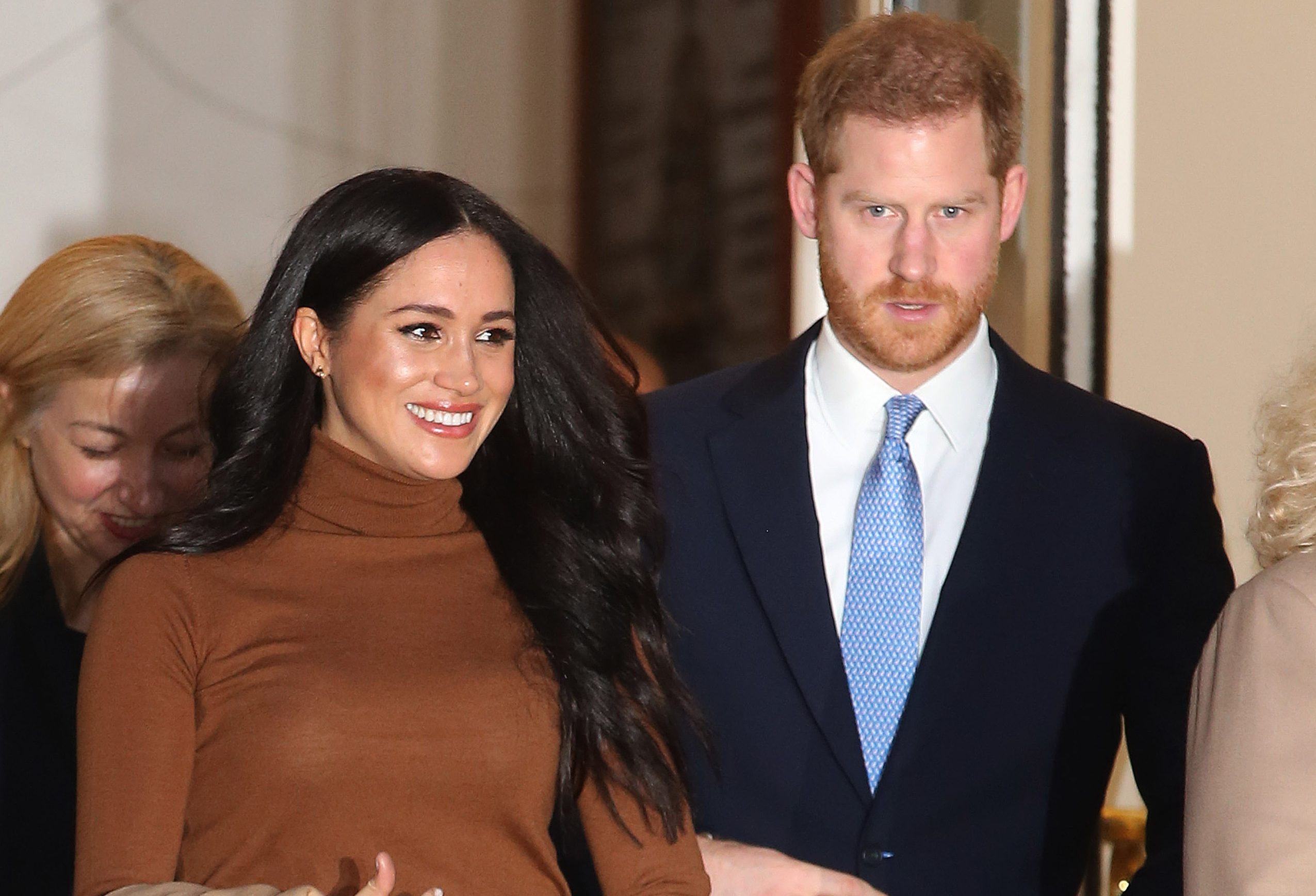 Meghan and Harry share first post since stepping back from royal family