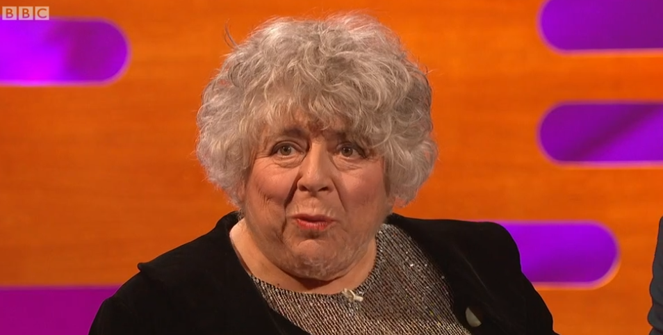 Viewers in stitches at Miriam Margolyes' VERY rude comments on The Graham Norton Show