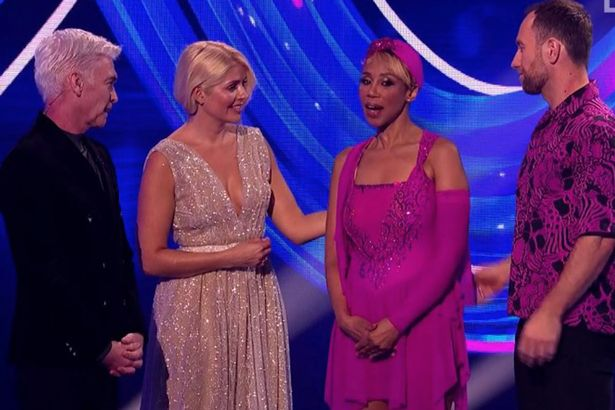 Dancing On Ice: Trisha Goddard is first celebrity to leave the competition