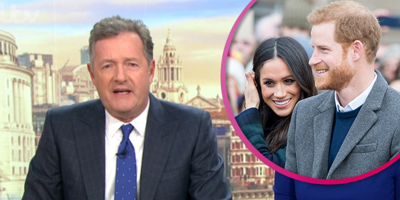 Piers Morgan snaps at Susanna Reid in rant about 'spoilt brats' Meghan and Harry