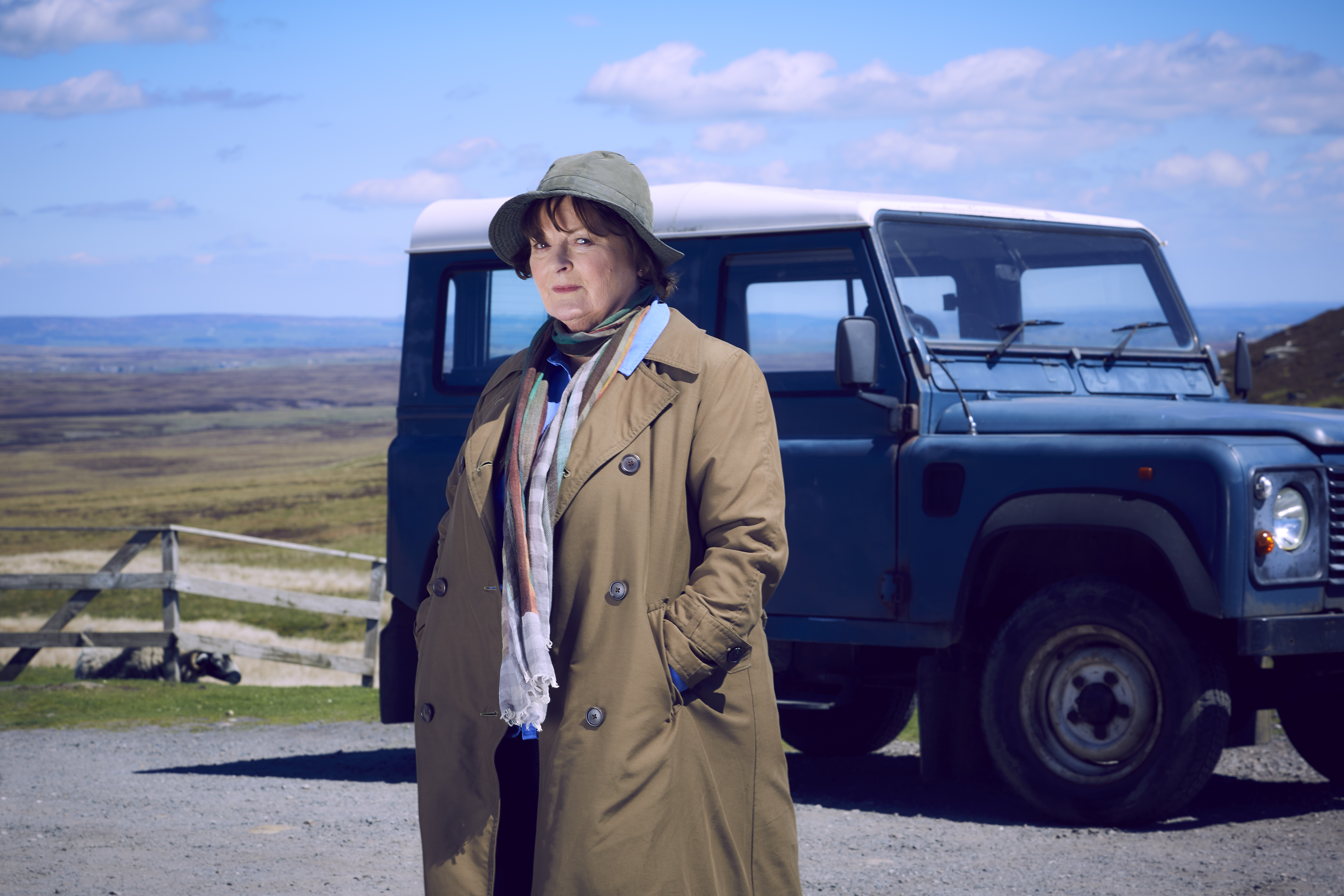Brenda Blethyn as Vera in series 10 of the ITV drama