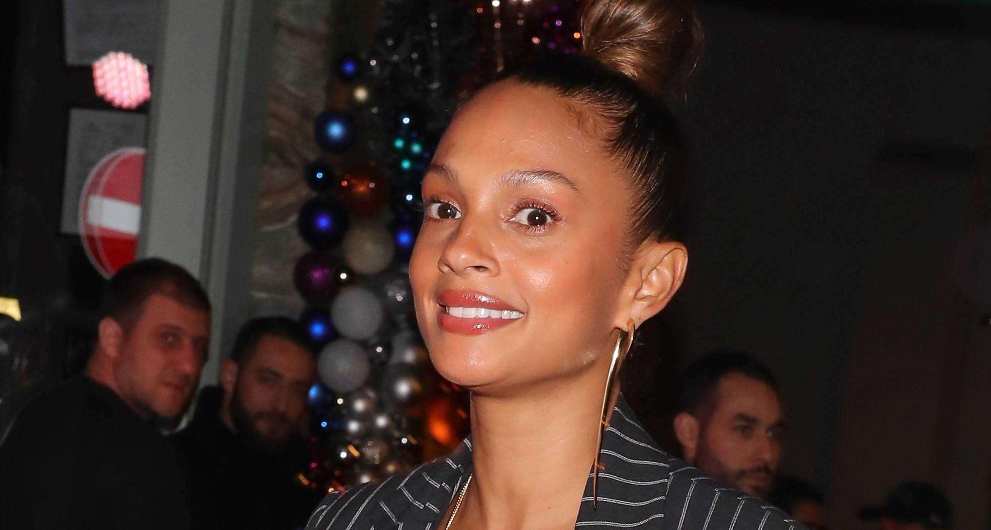 Alesha Dixon shares sweet family photo with husband and daughters