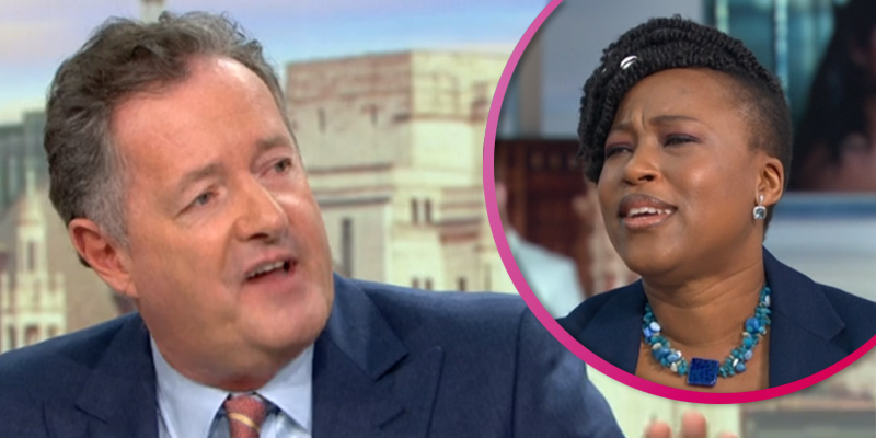 Piers Morgan and GMB guest get into shouting match in heated 'racism' debate over Meghan