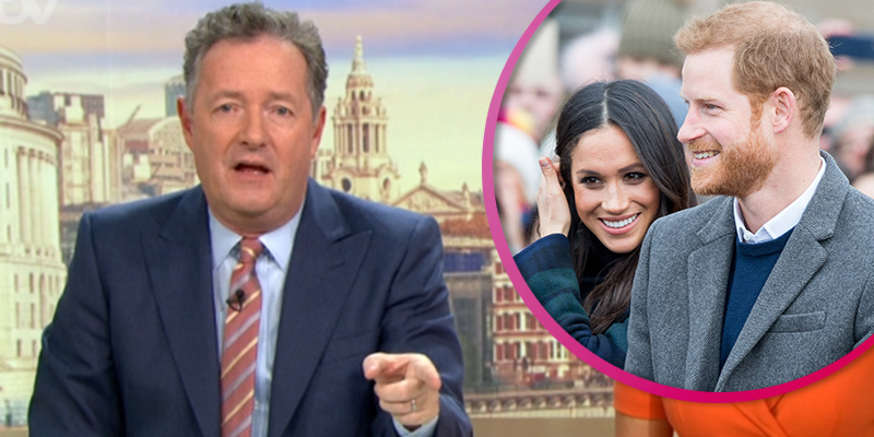 Piers Morgan accuses Meghan and Harry of 'bullying' the Queen