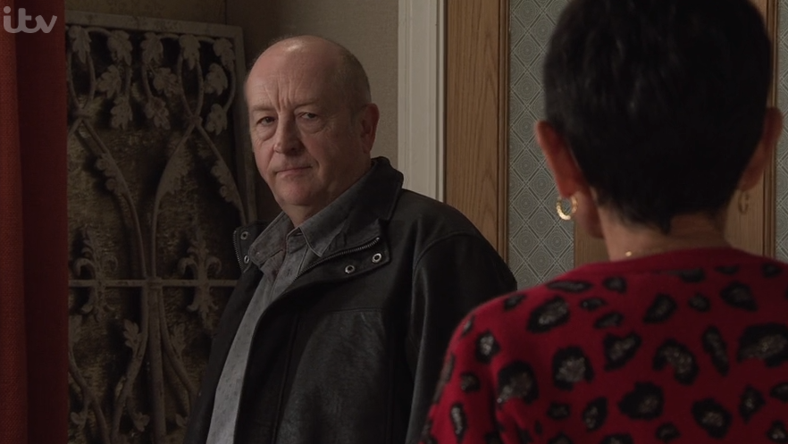 Coronation Street SPOILERS: Geoff forces Yasmeen to down a bottle of wine