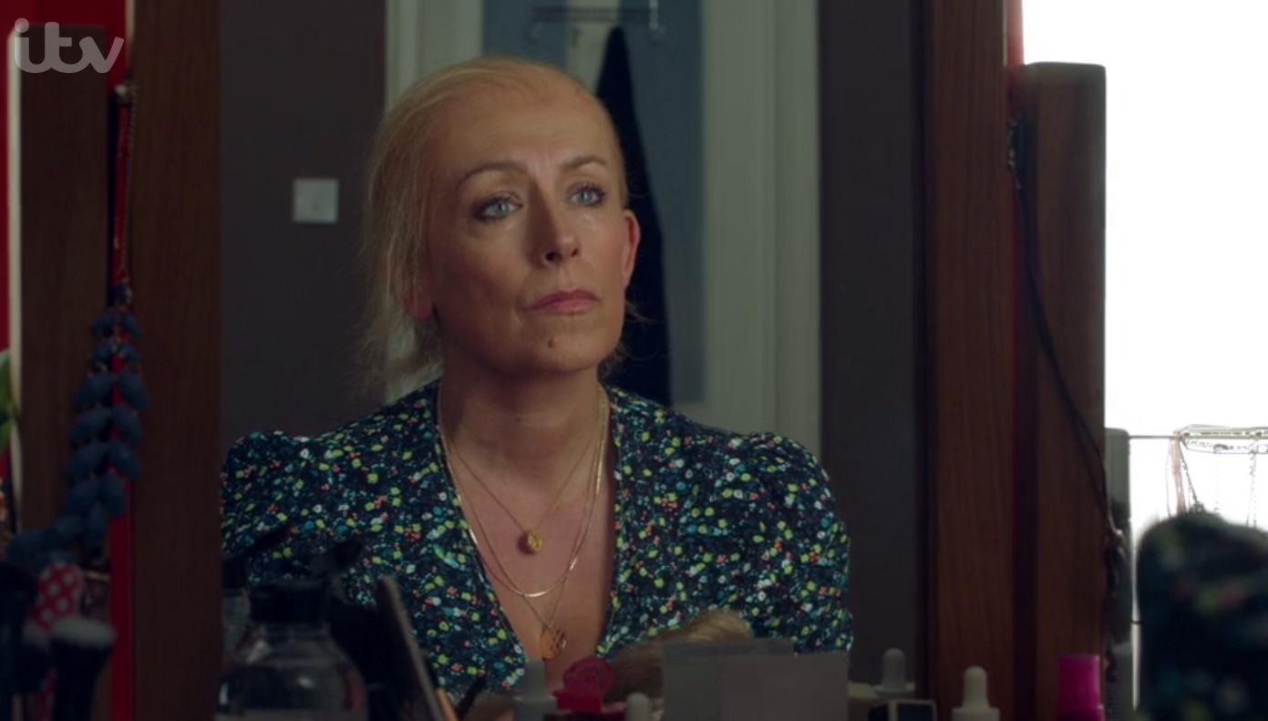 Cold Feet viewers in 'tears' over Jenny's emotional mirror scene