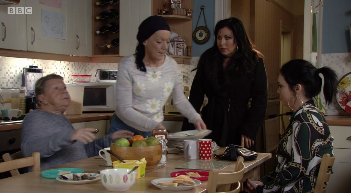 EastEnders Kat and family Credit: BBC
