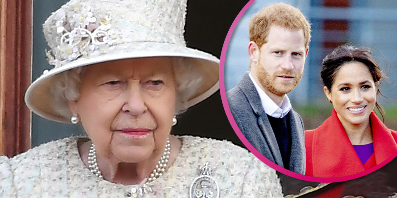 Queen may have dropped hint Harry and Meghan could lose titles, suggests expert
