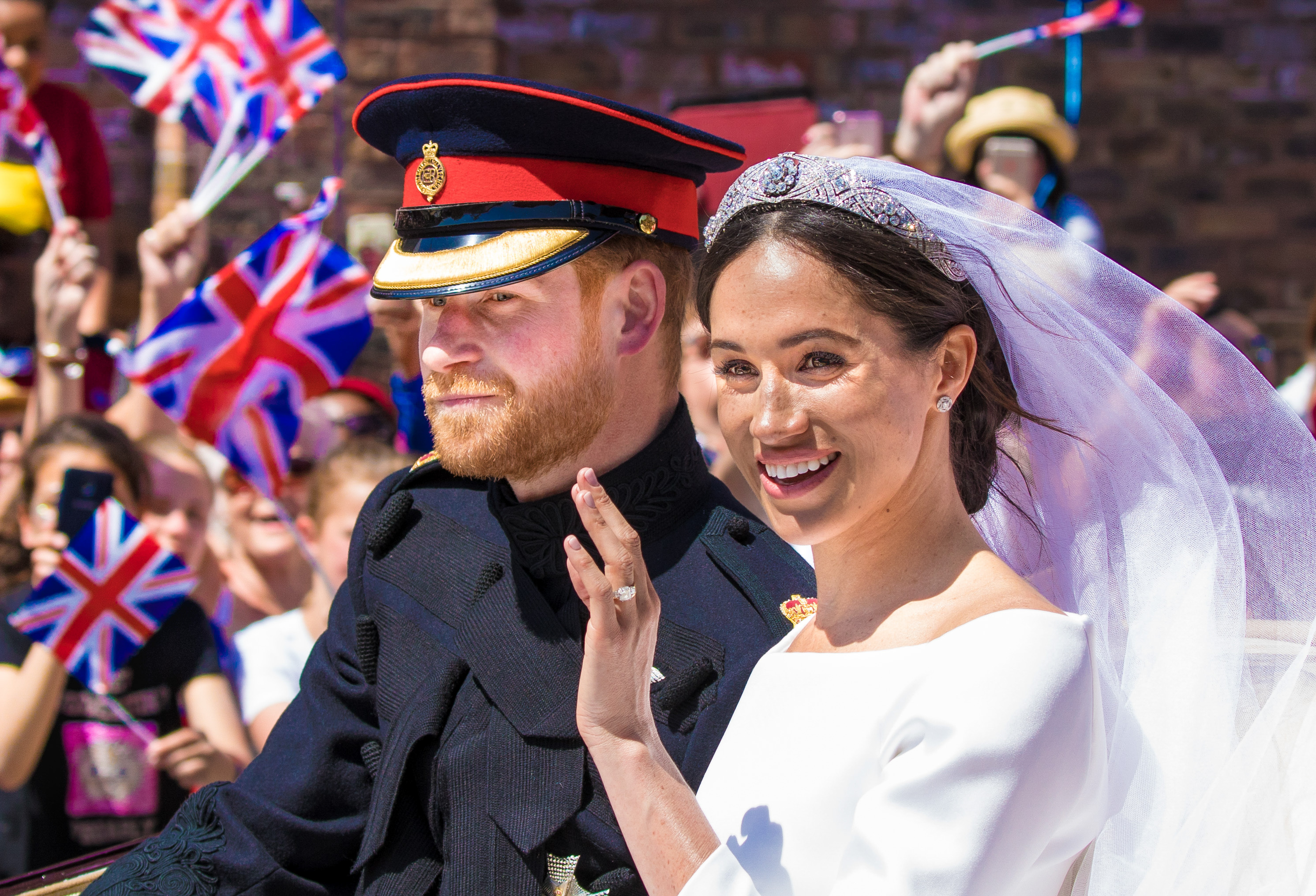 Harry and Meghan will not use HRH titles