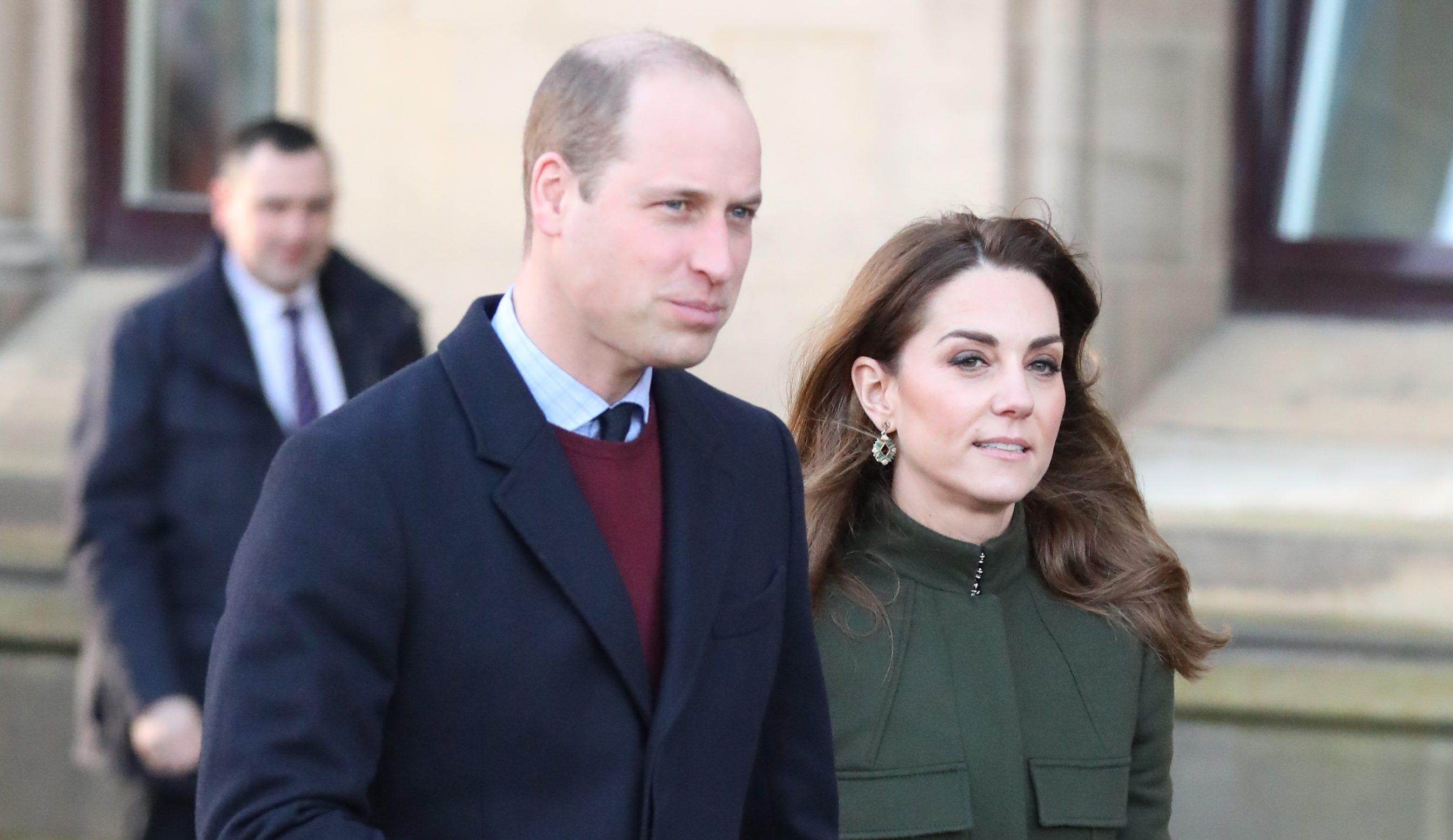 Will and Kate make first joint public appearance since Meghan and Harry crisis