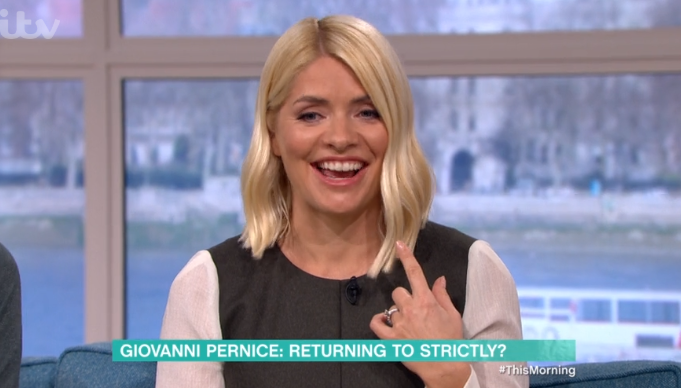 Holly Willoughby drops hint she could do Strictly Come Dancing this year