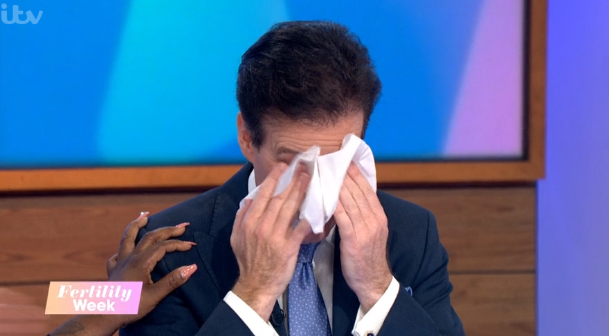 Strictly's Anton Du Beke tears up over his twins on Loose Women