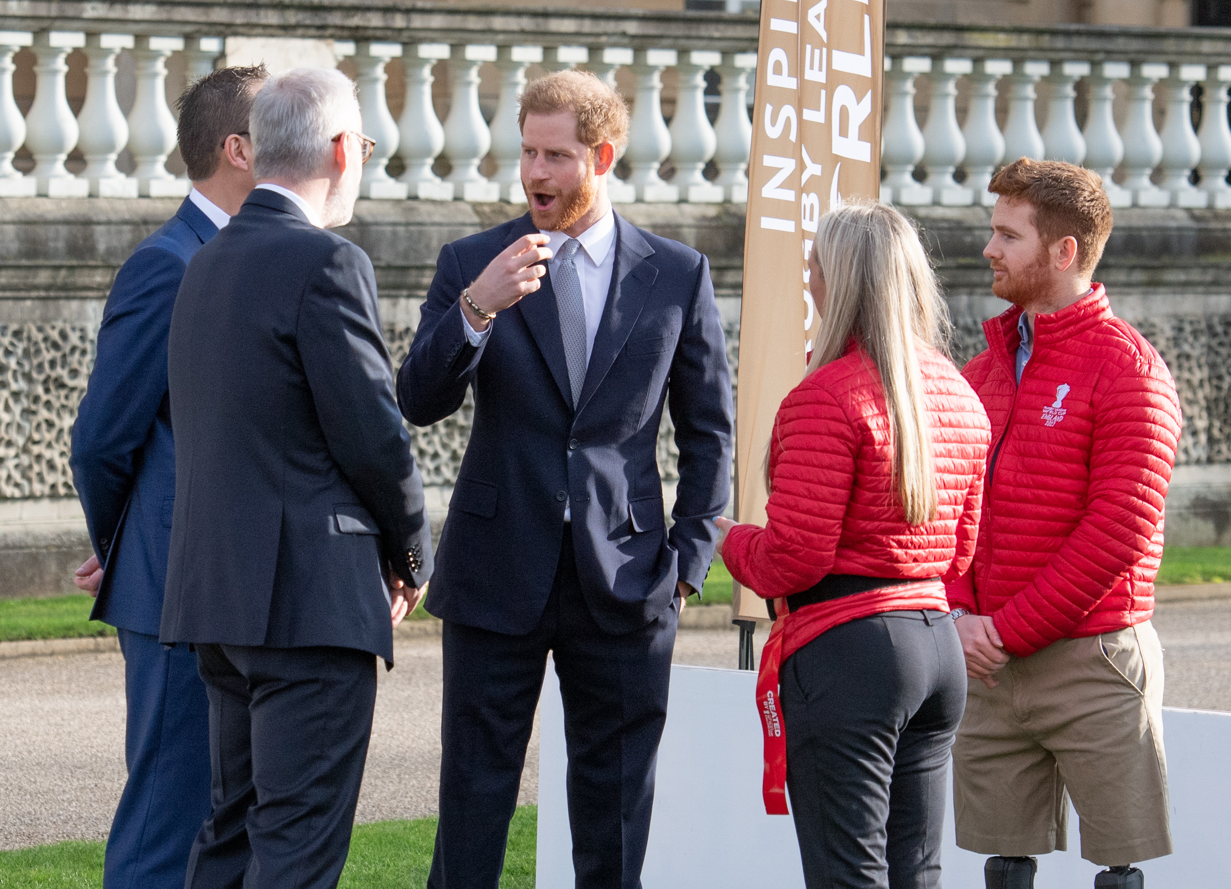 Prince Harry makes first public appearance since announcing 'split from royals'