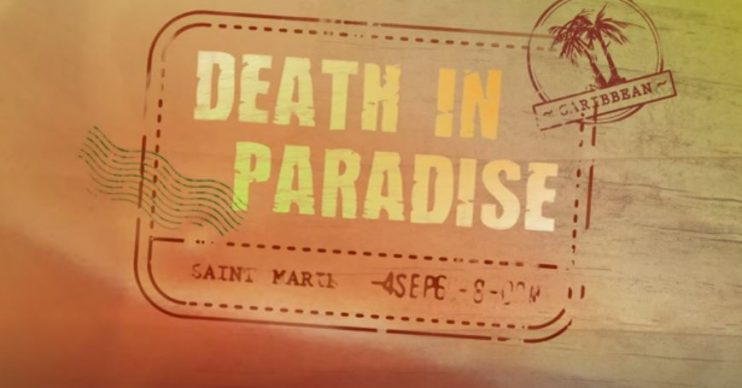Death in Paradise logo