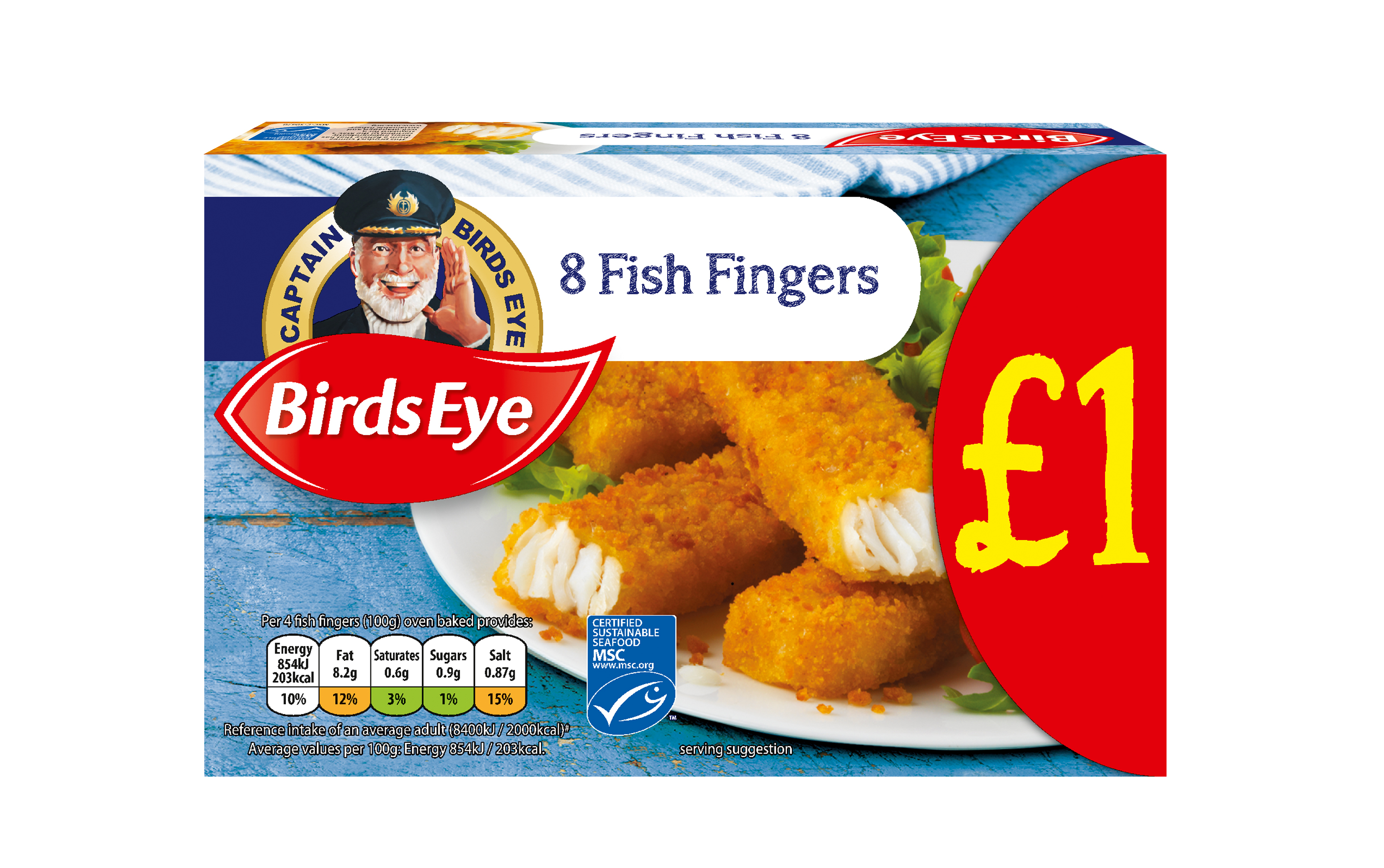 The hunt is on to find a real-life shopper to replace Captain Birds Eye on boxes of Fish Fingers
