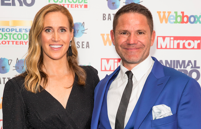 Steve Backshall and Helen Glover welcome twins and release cute photos