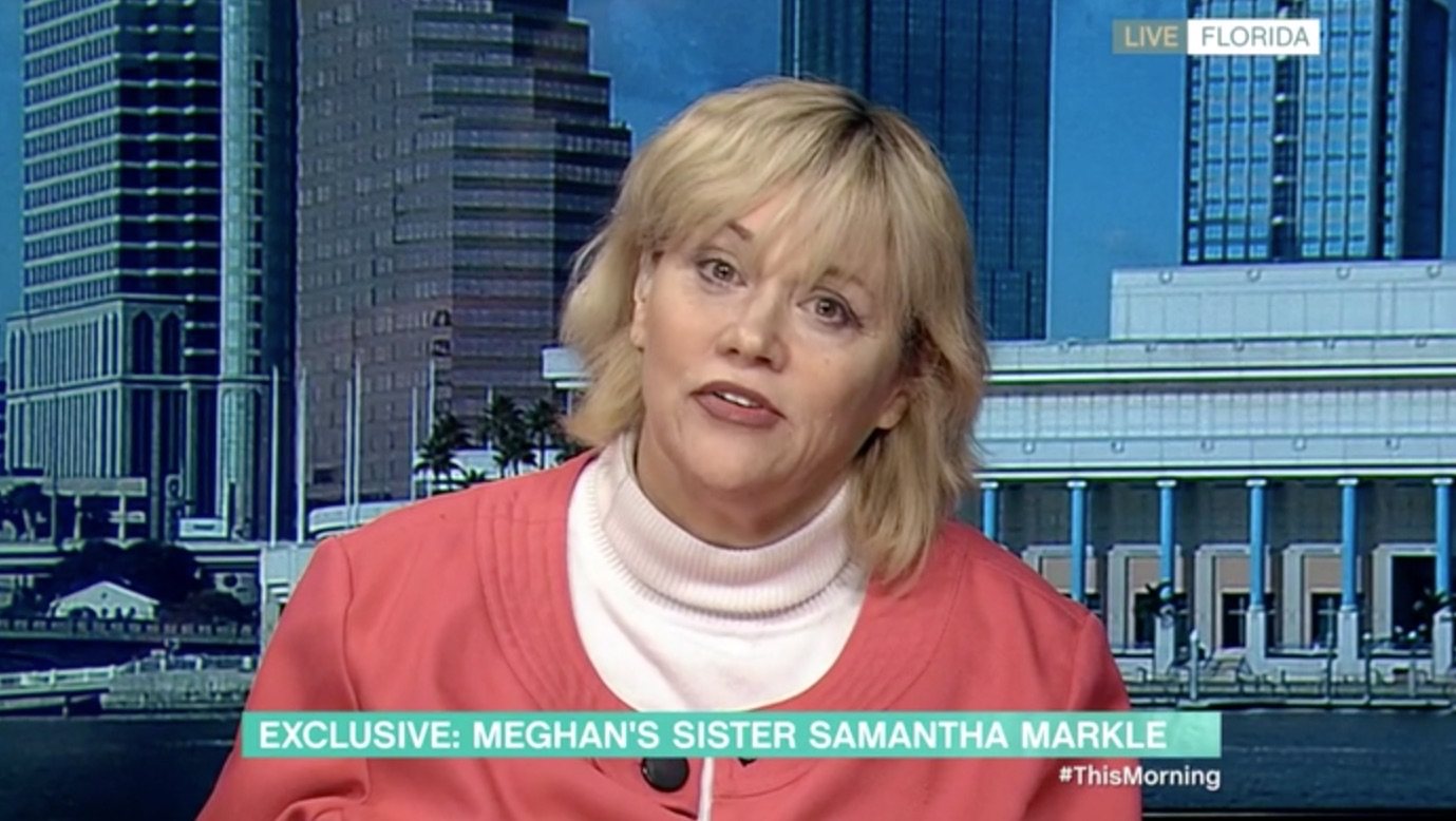 Samantha Markle accuses Meghan of waging 'smear campaign' against father Thomas