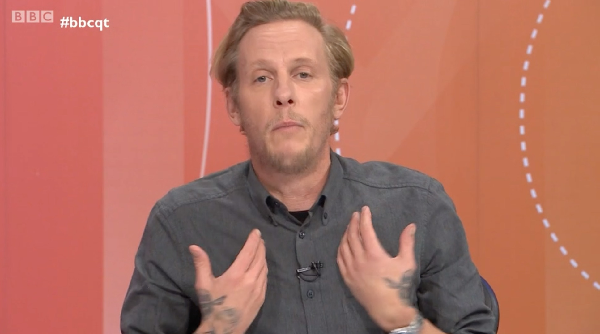 Laurence Fox Question Time