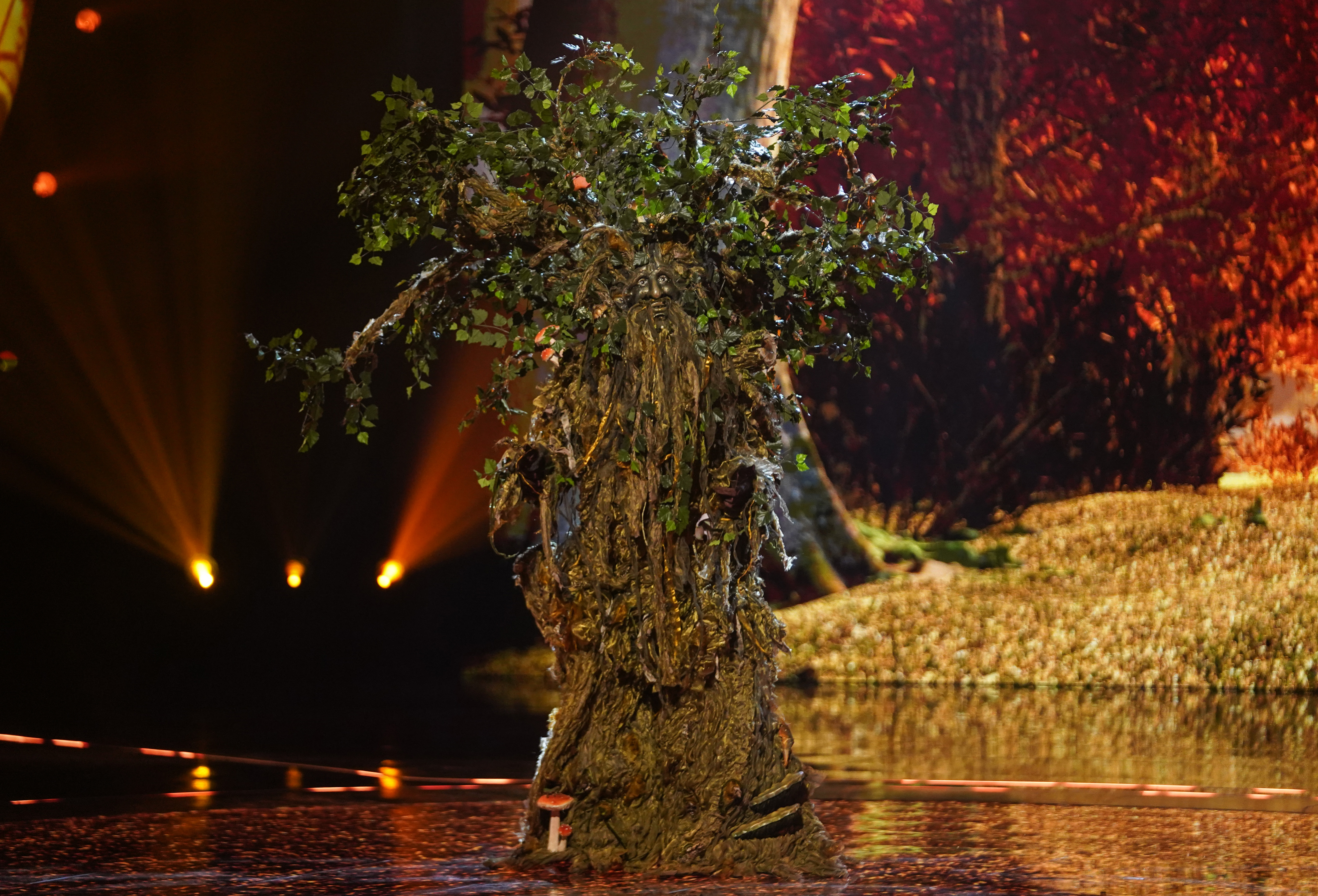 Teddy Sheringham is Tree on The Masked Singer