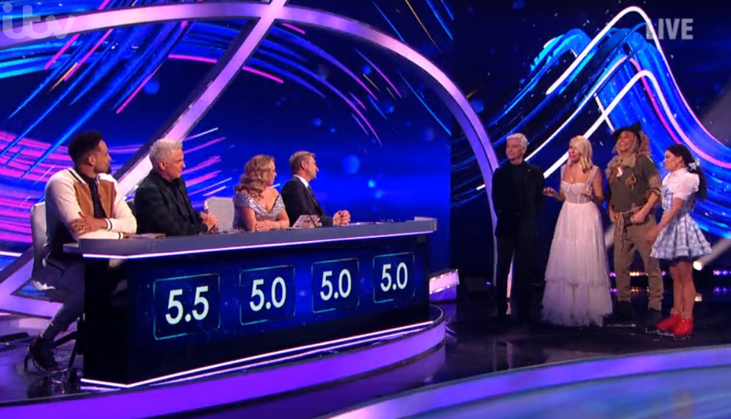 Dancing On Ice: Viewers call out 'unfair' scoring of Joe Swash and Libby Clegg