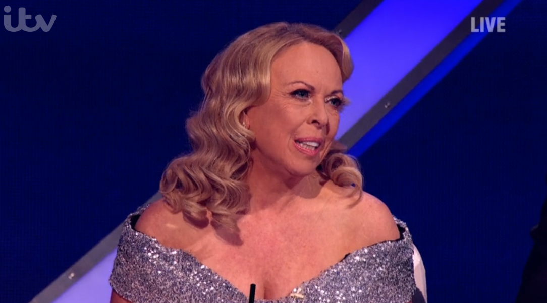 Jayne Torvill on Dancing On Ice
