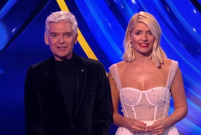 Dancing On Ice host Phillip Schofield gets Jayne Torvill's name wrong live on air